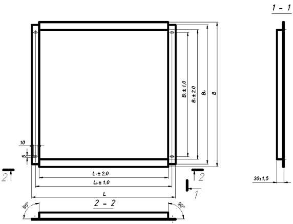 металлокассеты для фасада размеры