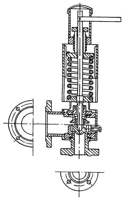 Клапан предохранительный Т-31М-2