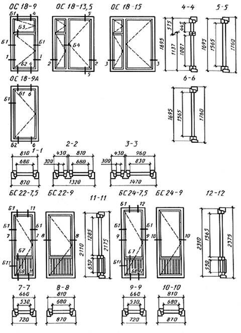Гост 11214-86 окна и балконные двери деревянные с двойным ос.
